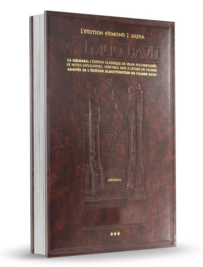 Talmud Babli Traité Souccoth - volume 2