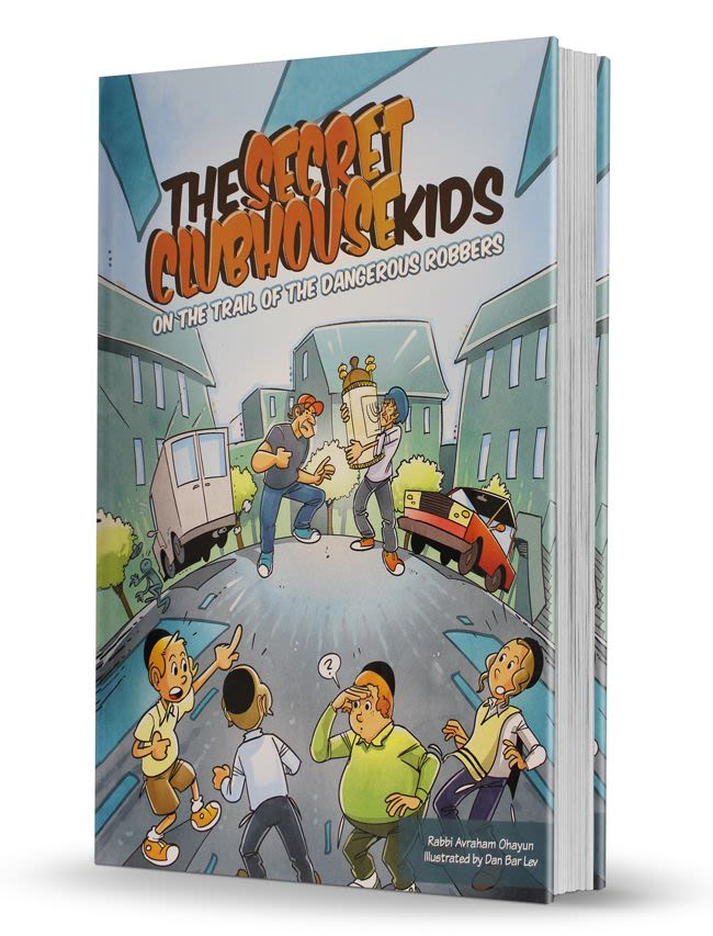 The Secret Clubhouse Kids - on the trail of the dangerous robbers