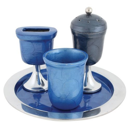 Havdalah Set, Blue
