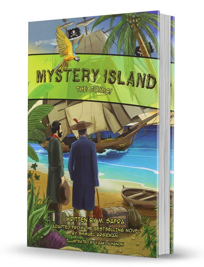 Mystery Island the Comic