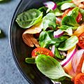 Prepping salads on Shabbat