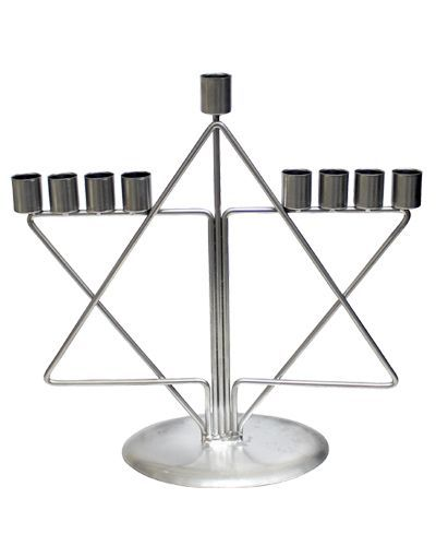 Menorah - Large Star of David