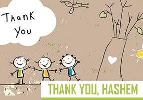 Thank You, Hashem