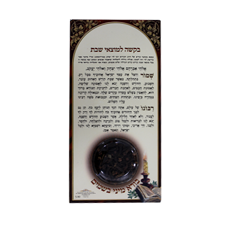 Magnetic Prayer with Spices for Havdala
