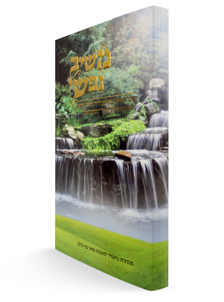 משיב נפשי - ביאור על הספר משיבת נפש