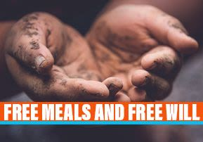 Free Meals and Free Will