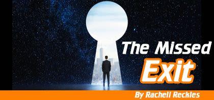 The Missed Exit