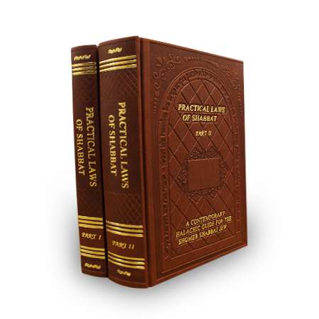 Practical Laws of Shabbat - 2 volume set
