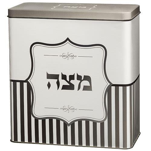 Frischhaltebox für Matzot (lila-rosa)