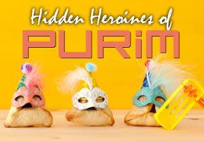 Hidden Heroines of Purim