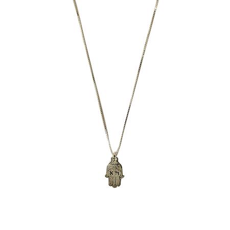 שרשרת חמסה עם הא - 925 - האמן משה צרפתי