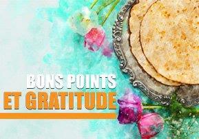 Bons points et gratitude