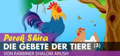 Perek Shira – Die Gebete der Tiere (3)