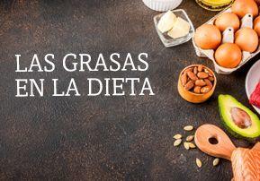 Las grasas en la dieta