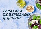 Ensalada de remolacha y yogurt