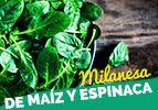 Milanesa de Maíz y Espinaca