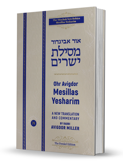 Or Avigdor Mesillas Yesharim - A New Translation and Commentary - Volume 1