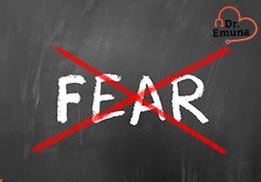 Dr. Emuna: No Fear