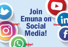 Join Emuna on Social Media