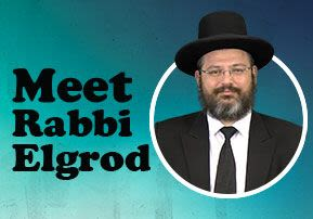 Meet Rabbi Elgrod