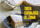 Torta esponjosa de limón