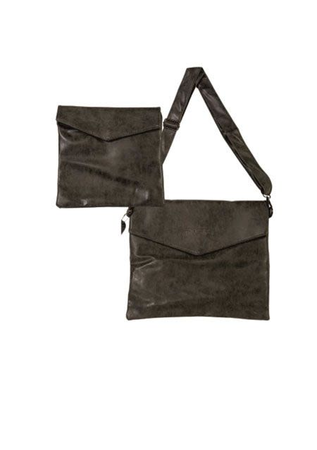 Talit and Tefillin Bag of Gray Imitation Leather