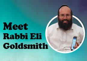 Meet Rabbi Eli Goldsmith