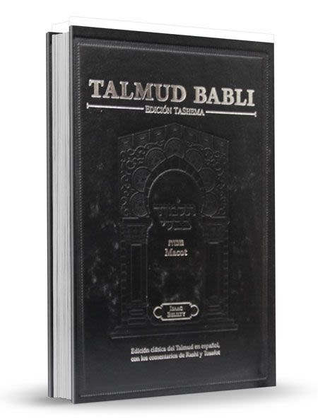 Talmud Babli - Tashema - Macot- Formato Pequeño