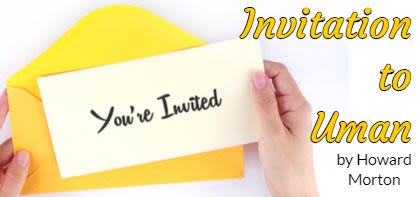 Invitation to Uman