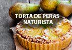 Torta de peras naturista