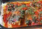 פילה דג בתנור בהכנה מהירה