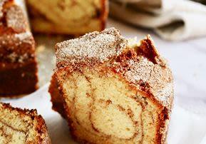 Dairy Cinnamon Swirl Coffee Cake