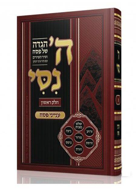 הגדה של פסח השם נסי – הרב מאיר מאזוז חלק א'