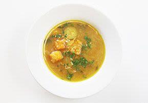 Herbstliche Kürbis-Zwiebel-Suppe