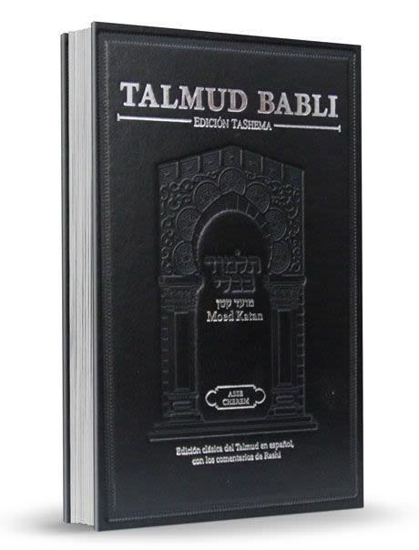Talmud Babli -Tashema - Moed Katan - formato pequeño