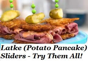 Latke (Potato Pancake) Sliders