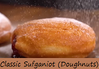 Classic Sufganiot Jelly-Filled Doughnuts