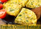 French Onion Frittata