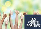 Les points positifs