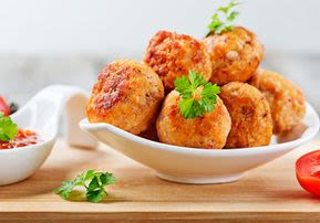 Chicken Vegetable Fritters - A Favorite with Kids