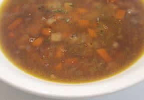 Potato, Onion, and Parsnip Soup