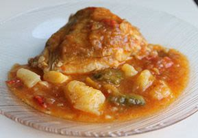 Chicken, Potato, and Vegetable Stew