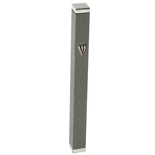 Thin Aluminum Mezuzah