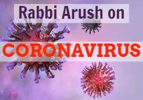 Rabbi Arush zu dem CORONAVIRUS