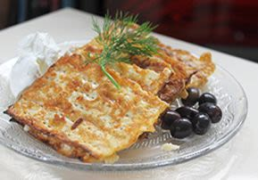 Passover: Cheese-Filled Matzot