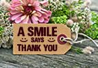 A Smile Says Thank You