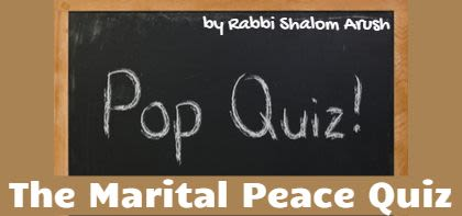 The Marital Peace Quiz