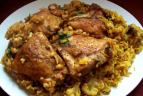 Maqluba Up-Side-Down Chicken