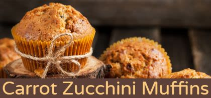 Healthy Carrot and Zucchini Bread / Muffins
