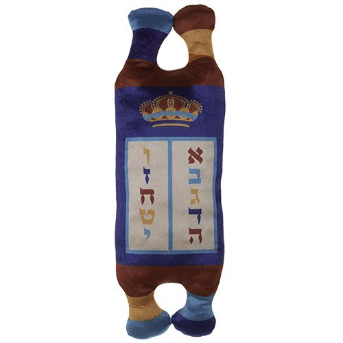 Children's Torah Scroll made of Embroidered Fabric